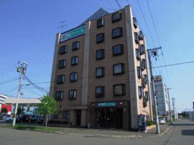 北海道帯広市のウィークリーマンション・マンスリーマンション「ドットコムビル」外観画像