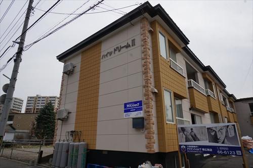 北海道帯広市のウィークリーマンション・マンスリーマンション「ハイツドリームⅡ」外観画像