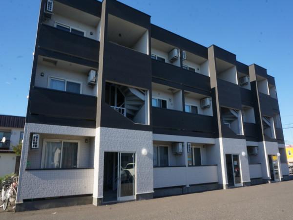 北海道帯広市のウィークリーマンション・マンスリーマンション「LA・PACE529(ラ・パーチェ529)」外観画像