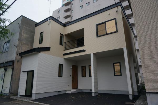 北海道のウィークリーマンション・マンスリーマンション「lake moor514(レイク・モア514)」外観画像