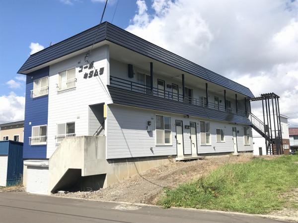 北海道旭川市のウィークリーウィークリーマンション・マンスリーマンション「コーポキタムラ 」外観画像