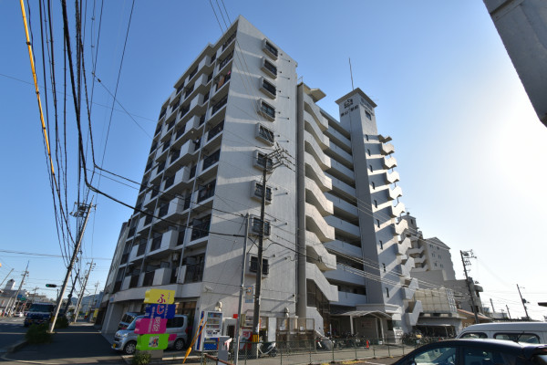山口県徳山市の家具付きウィークリー・マンスリーマンション「Kマンスリー徳山駅前」外観画像