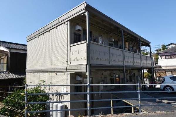 山口県徳山市の家具付きウィークリー・マンスリーマンション「Kマンスリー徳山医師病院前」外観画像