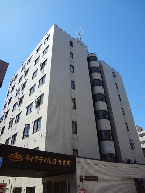 北海道札幌市北区のマンスリーマンション・ウィークリーマンション「スーパーマンスリーN12」外観画像