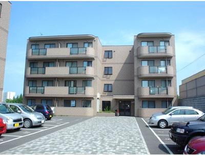 札幌市のマンスリーマンション・ウィークリーマンション「ノースステイ大谷地」外観画像