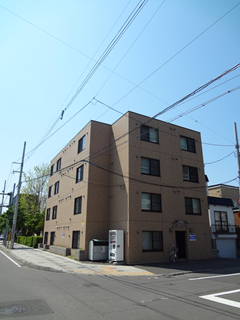 北海道札幌市北区のマンスリーマンション・ウィークリーマンション「ノースステイ北大前Ⅲ」外観画像