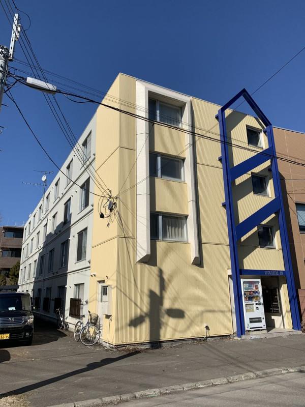 北海道札幌市北区のマンスリーマンション・ウィークリーマンション「スーパーマンスリー北大前Ⅳ」外観画像