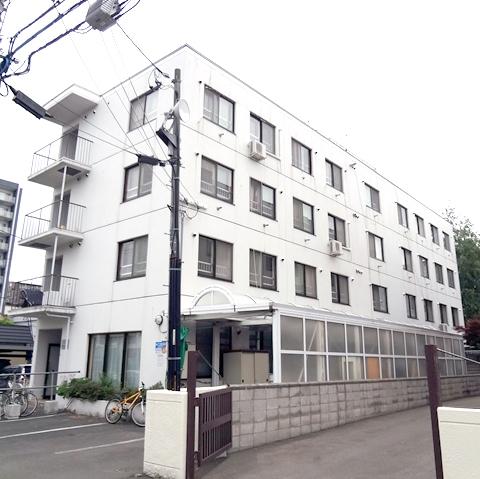 北海道札幌市北区のマンスリーマンション・ウィークリーマンション「スーパーマンスリー北大前Ⅴ」外観画像