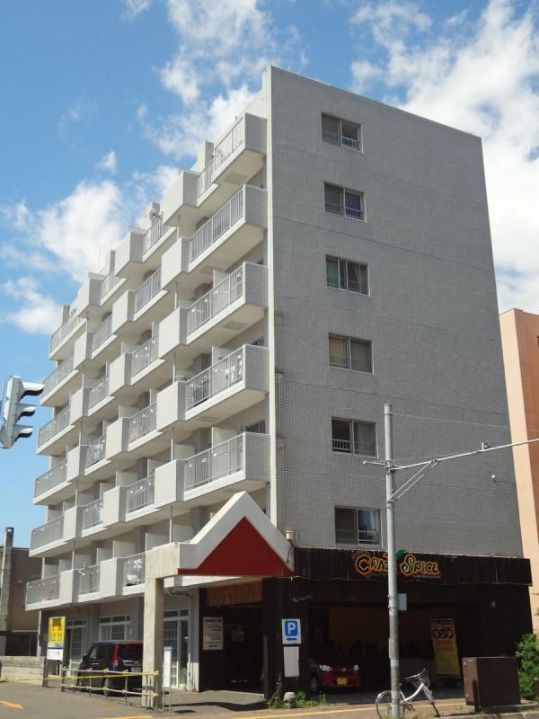 北海道札幌市北区のマンスリーマンション・ウィークリーマンション「ノースステイ北16条」外観画像
