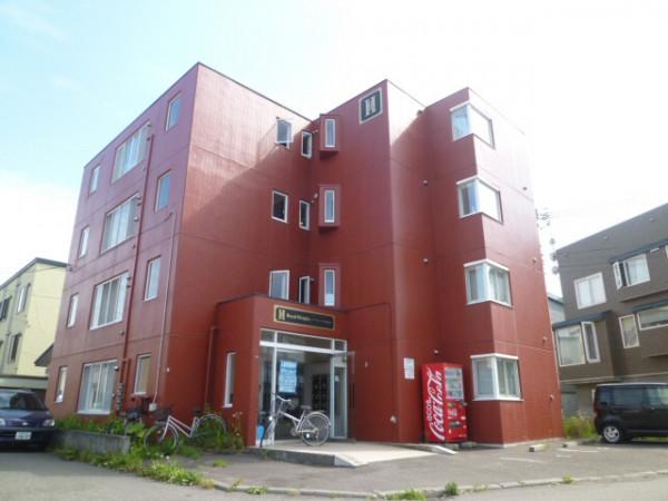 札幌市のマンスリーマンション・ウィークリーマンション「ノースステイ環状通東」外観画像