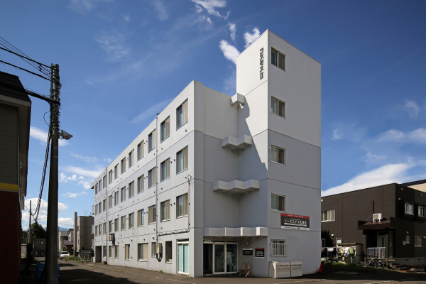 札幌のマンスリーマンション・ウィークリーマンション「ノースステイ札幌北」外観画像