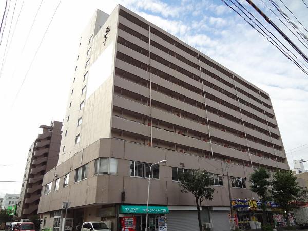 北海道札幌市北区のマンスリーマンション・ウィークリーマンション「ノースステイN13条」外観画像