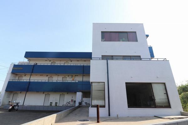 鹿児島県のウィークリーマンション・マンスリーマンション「ワールドハイツ」外観画像