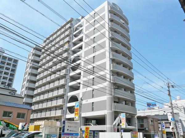 福岡県福岡市中央区のウィークリーマンション・マンスリーマンション「Kマンスリー渡辺通東」外観画像