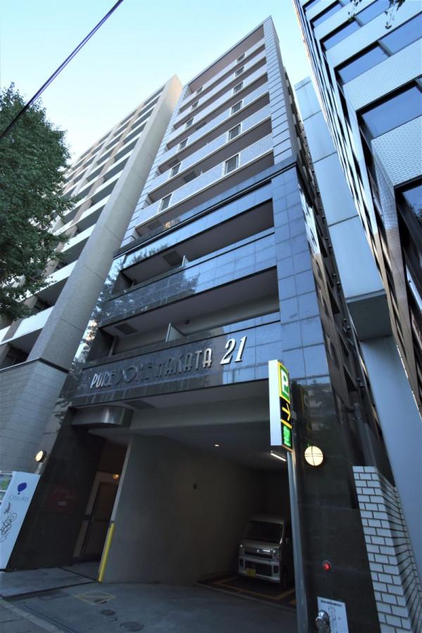 福岡県福岡市博多区のウィークリーマンション・マンスリーマンション「Kマンスリー博多駅東」外観画像