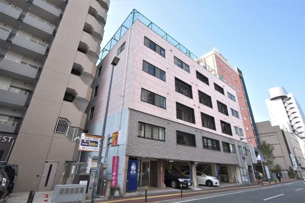 福岡県福岡市中央区のウィークリーマンション・マンスリーマンション「Kマンスリー中洲」外観画像