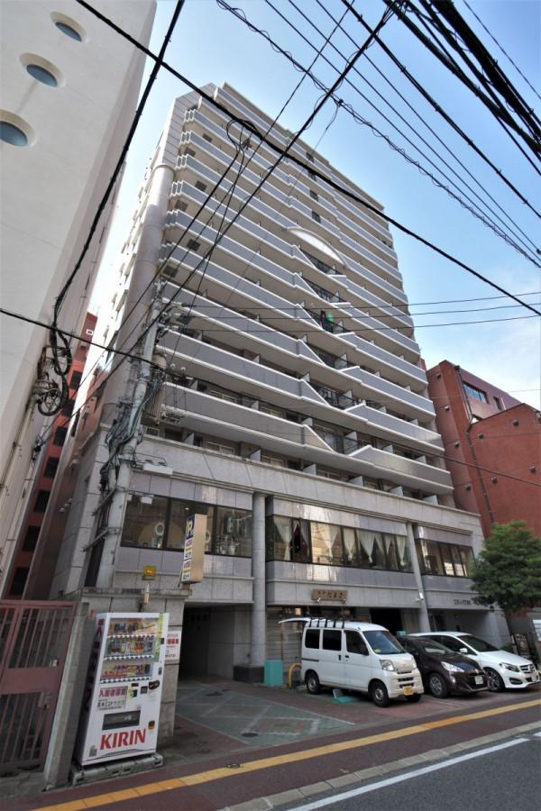 福岡のウィークリーマンション・マンスリーマンション「Kマンスリー赤坂駅前」外観画像