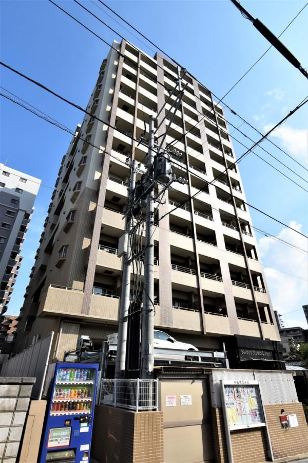 福岡のウィークリーマンション・マンスリーマンション「Kマンスリー箱崎駅前」外観画像