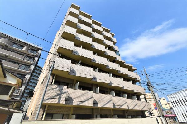 福岡のウィークリーマンション・マンスリーマンション「Kマンスリー西新駅」外観画像