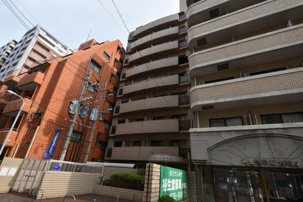 福岡のウィークリーマンション・マンスリーマンション「Kマンスリー大濠公園入口」外観画像