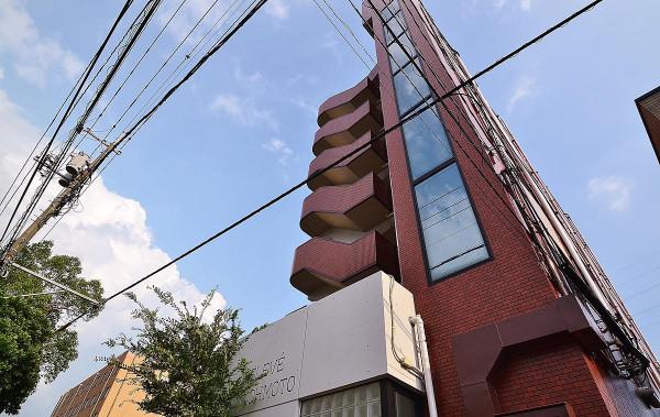 岡山県岡山市北区の家具付き賃貸「エルヴェ大元」外観画像