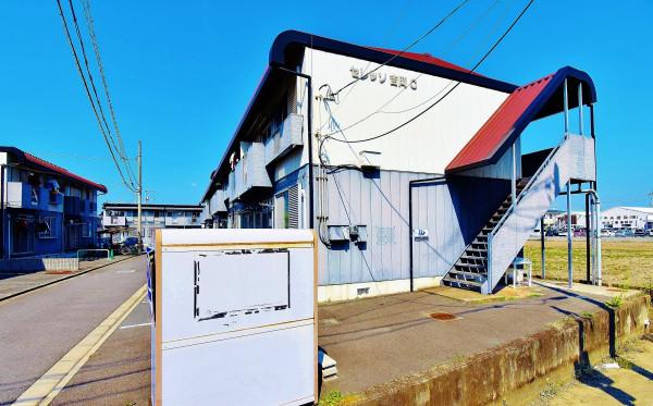 岡山県の家具付き賃貸「セレッソ吉岡C棟」外観画像
