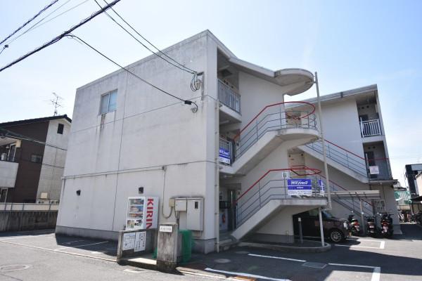 岡山県岡山市北区の家具付き賃貸「K'sB下伊福」外観画像