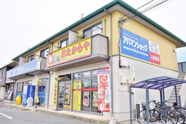 岡山県のウィークリーマンション・マンスリーマンション「Kマンスリー東岡山」外観画像