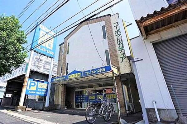 岡山県のウィークリーマンション・マンスリーマンション「Kマンスリー津山」外観画像