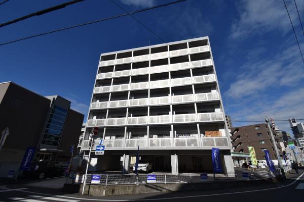 清輝橋駅(岡山電軌清輝橋線)の家具付き賃貸「KsB大供」外観画像