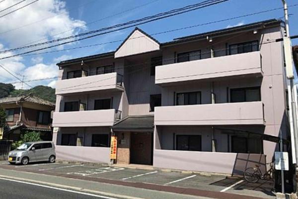 岡山県のウィークリーマンション・マンスリーマンション「Kマンスリー井原」外観画像