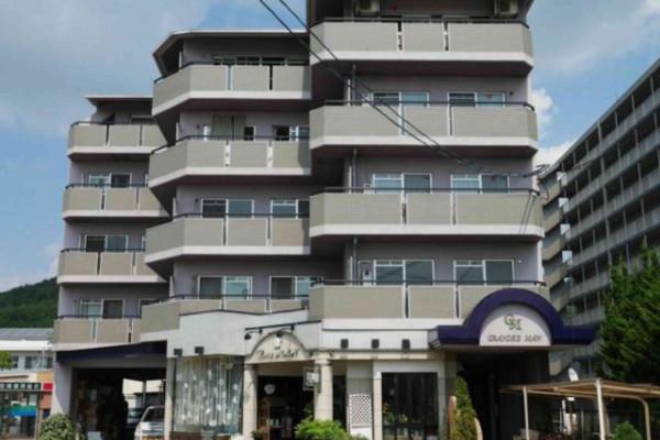 岡山県笠岡市のウィークリーマンション・マンスリーマンション「Kマンスリー笠岡駅南」外観画像