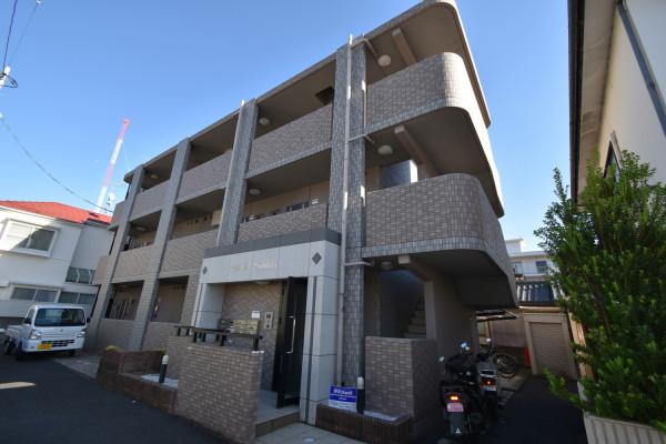 広島県広島市安佐南区のウィークリーマンション・マンスリーマンション「Kマンスリー西原」外観画像