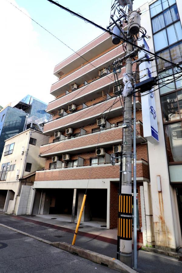 広島県広島市東区のウィークリーマンション・マンスリーマンション「Kマンスリー上大須賀町」外観画像