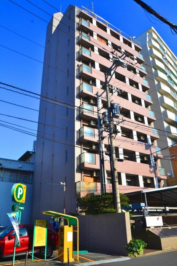 広島県広島市南区のウィークリーマンション・マンスリーマンション「Kマンスリー的場町」外観画像