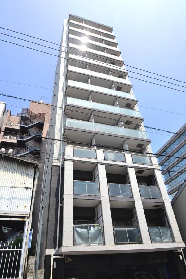 広島県広島市中区のウィークリーマンション・マンスリーマンション「Kマンスリー鶴見町」外観画像