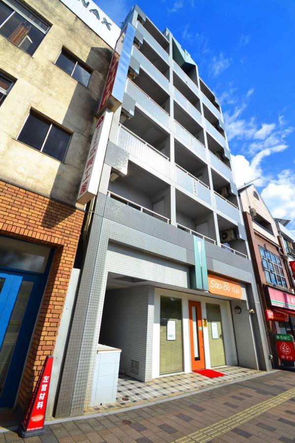 広島県広島市南区のウィークリーマンション・マンスリーマンション「Kマンスリー比治山」外観画像