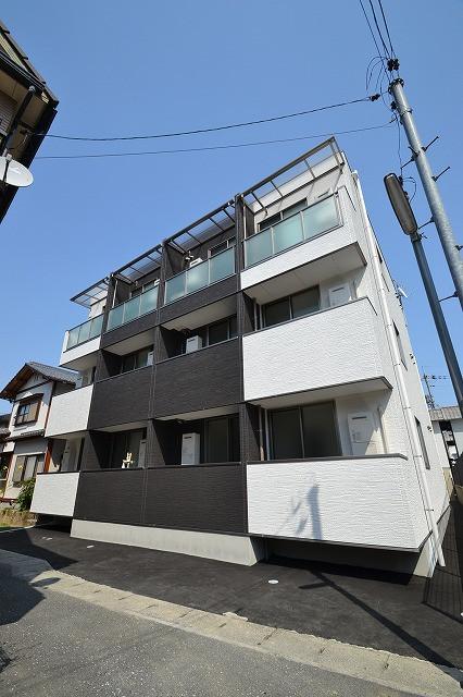 広島県の家具付き賃貸「月光五日市壱番館」外観画像