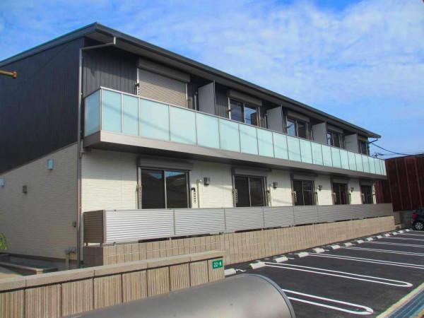 広島県の家具付き賃貸「J-house6」外観画像