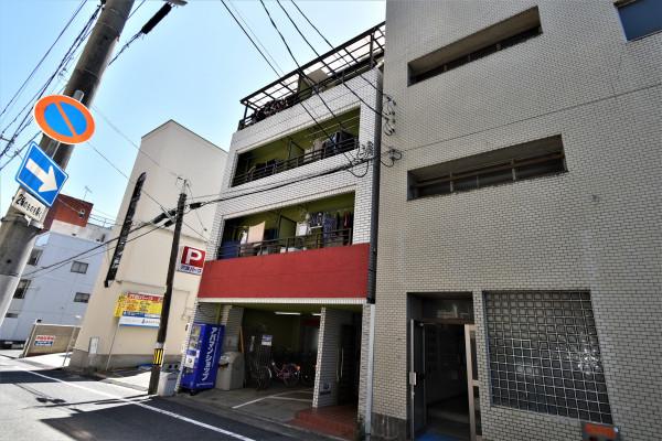 広島県広島市中区の家具付き賃貸「リブレ榎町」外観画像