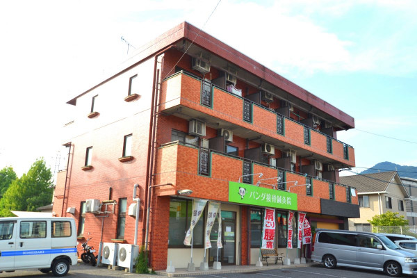 広島県広島市安佐南区のウィークリーマンション・マンスリーマンション「Kマンスリー緑井」外観画像