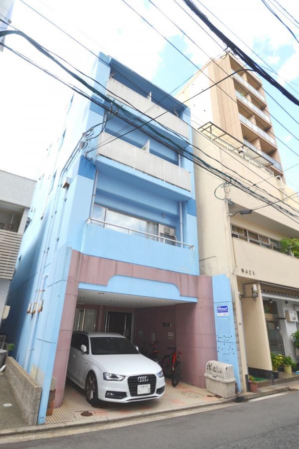 広島県のウィークリーマンション・マンスリーマンション「Kマンスリー小網町」外観画像