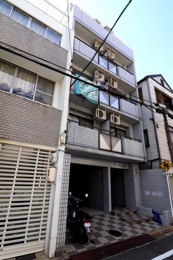 広島県広島市中区のウィークリーマンション・マンスリーマンション「Kマンスリー舟入」外観画像