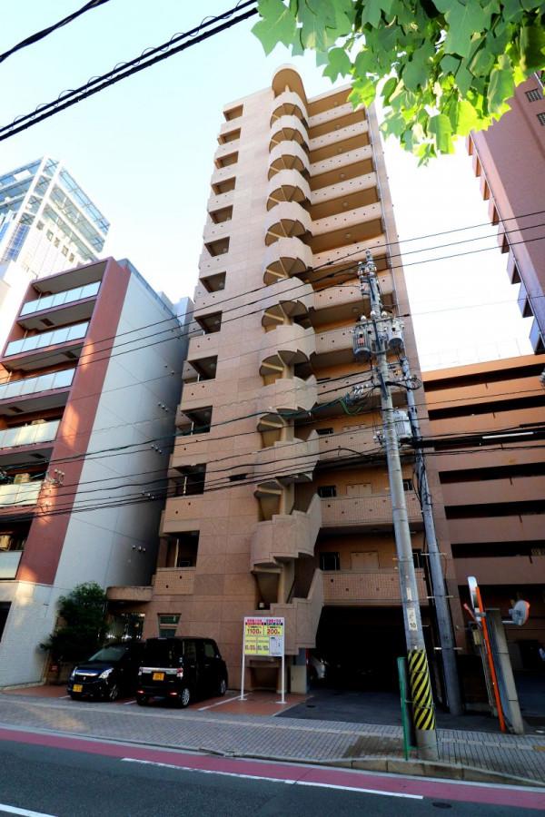 広島県のウィークリーマンション・マンスリーマンション「Kマンスリー広島市役所前」外観画像