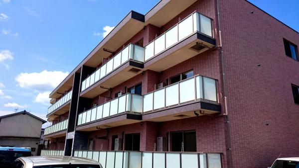 広島県福山市のウィークリーマンション・マンスリーマンション「Kマンスリー 福山医療センター前」外観画像