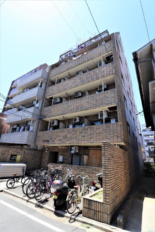 広島県のウィークリーマンション・マンスリーマンション「Kマンスリー宇品マツダ前」外観画像