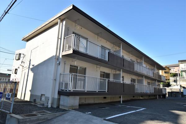 広島県のウィークリーマンション・マンスリーマンション「Kマンスリー呉和庄」外観画像