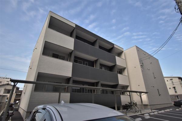 広島県のウィークリーマンション・マンスリーマンション「Kマンスリー福山三吉」外観画像