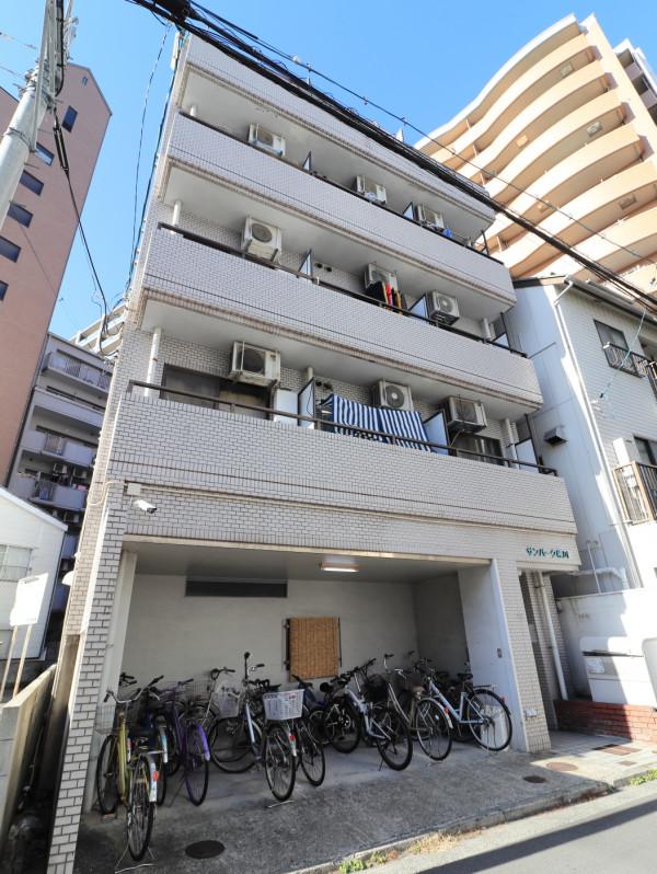 広島県広島市西区のウィークリーマンション・マンスリーマンション「Kマンスリー横川駅南口」外観画像