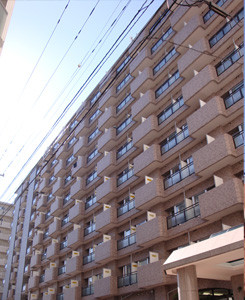 北海道のマンスリーマンション「サンシャイン・シティー」外観画像